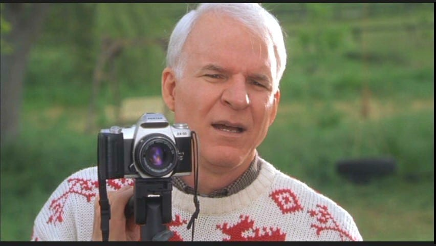 How I Once Played Steve Martin's Photo Double in a Hollywood Movie