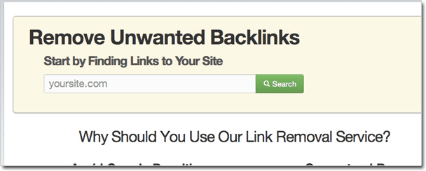 Unwanted Backlins