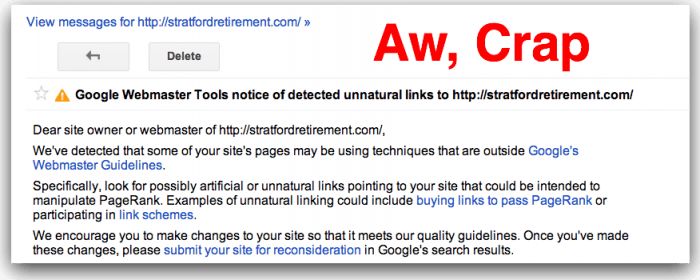 Penalty Lifted: How to Use Google's Disavow Tool