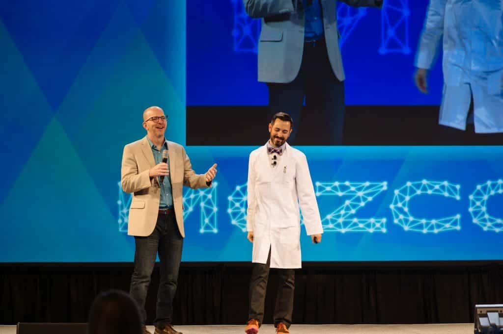 Cyrus and Rand at Mozcon